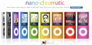 Enter to win an iPod Nano